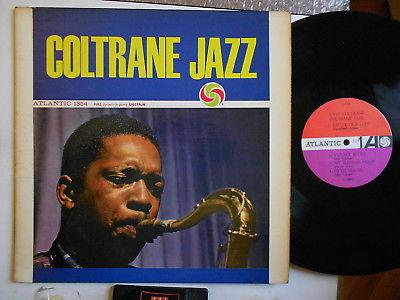 John Coltrane Coltrane jazz Atlantic mono redpurple signed by Coltrane
