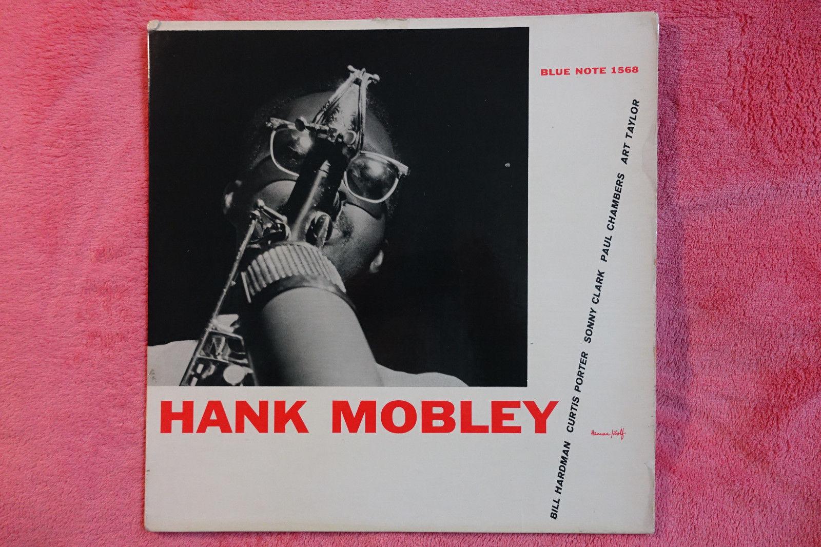 HANK MOBLEY 'SELF TITLE' , SIDE A: NYC,  SIDE B: NY 23. PROMOTION COPY. BLP 1568