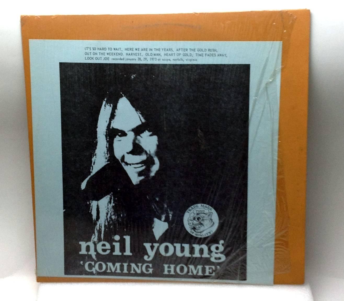 Neil Young Coming Home Live 29/1/1973 Vinyl LP Record TMOQ 1881 Rare VG++/NM