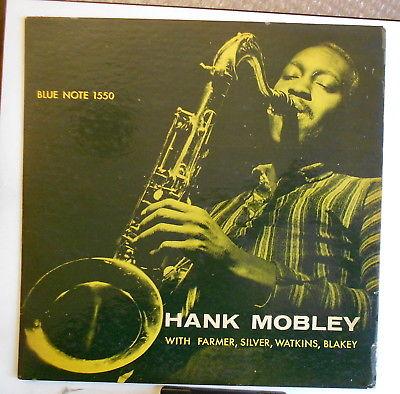 Hank Mobley 5et w.Farmer-Silver Blue Note 47W63rd DG RVG ear