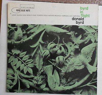 Donald Byrd Byrd in flight McLean-Mobley Blue Note 47W DG RVG ear mono
