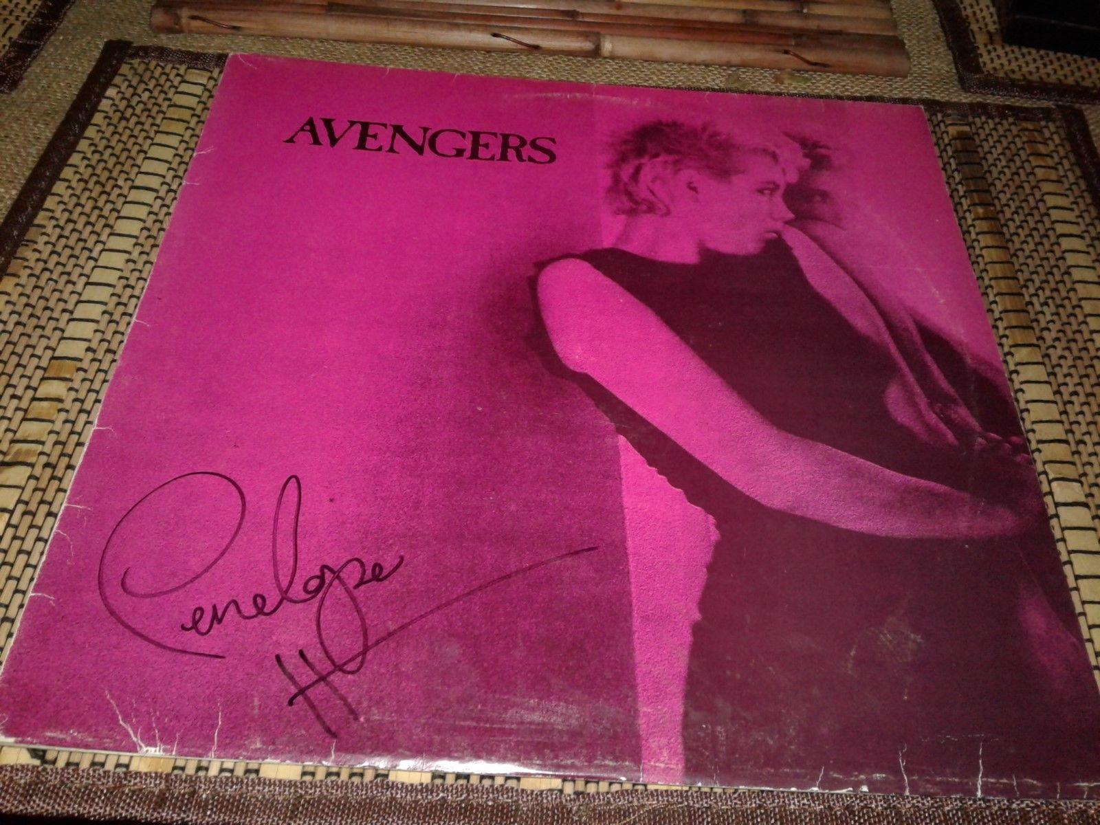 Avengers Vinyl Album Signed Penelope Houston Punk 1977 Clash Sex Pistols fans