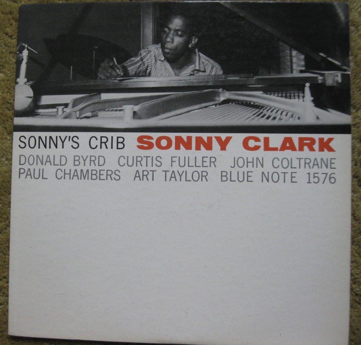 SONNY CLARK - SONNY'S CRIB- BLUE NOTE 1576- West 63rd New York 23 label-ear - NM