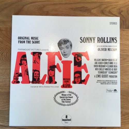 Sonny Rollins Alfie, Impulse AS 9111 ABC FOC, DG RVG as new