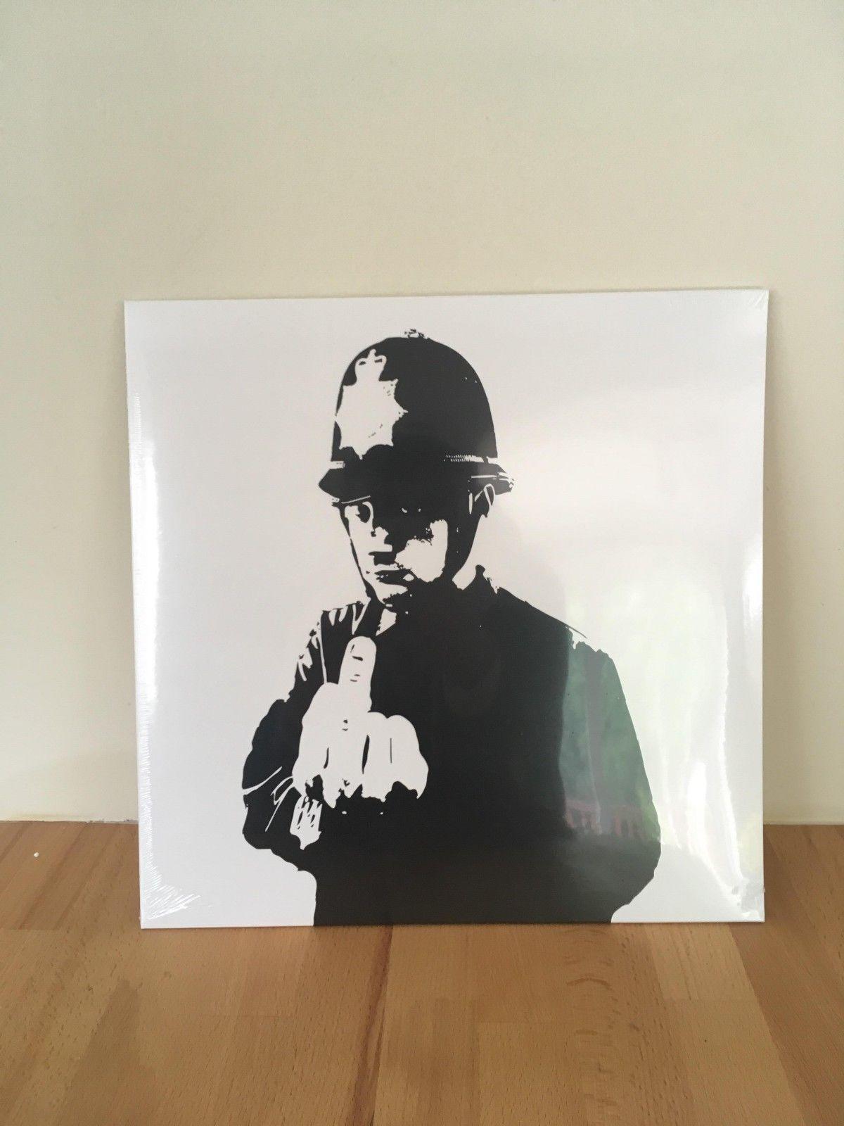 "Boys In Blue - ""Funk Tha Police"" 12 inch vinyl record Artwork by Banksy"