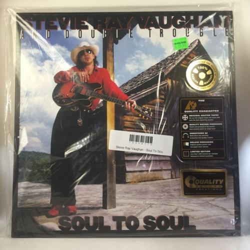 Stevie Ray Vaughan - Soul To Soul LP NEW reissue 200g  45 RPM