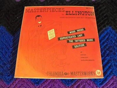 Duke Ellington, Masterpieces,   (  SEALED  )   Original     1951