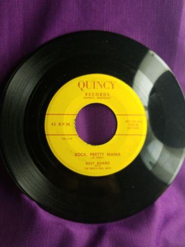 ??? ROCKABIILY  Billy Adams/ Luke Gordon on Quincy Label  ???