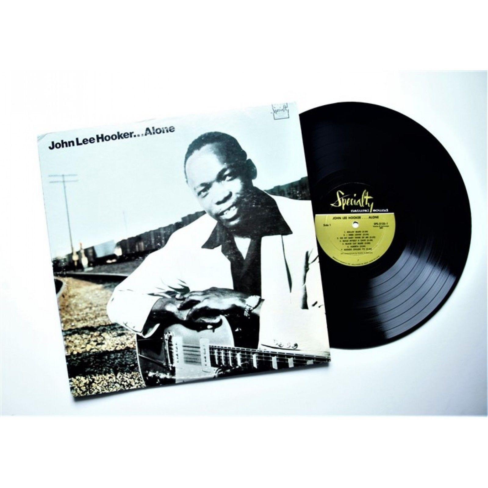 JOHN LEE HOOKER - ALONE - LP USA 1970 - EXCELLENT-