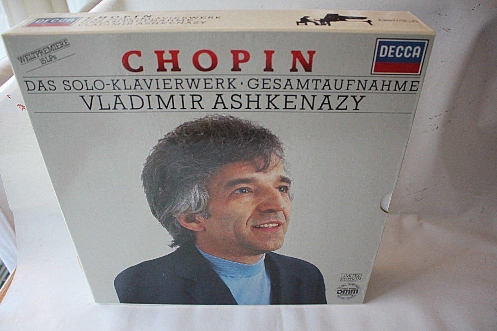 Ashkenazy-Chopin : Das Solo Klavierwerk , DECCA Digital Edition, 15LP, M-