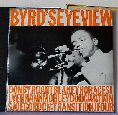 Donald Byrd Byrd's eye view w.Mobley-Silver Transition with book original rare