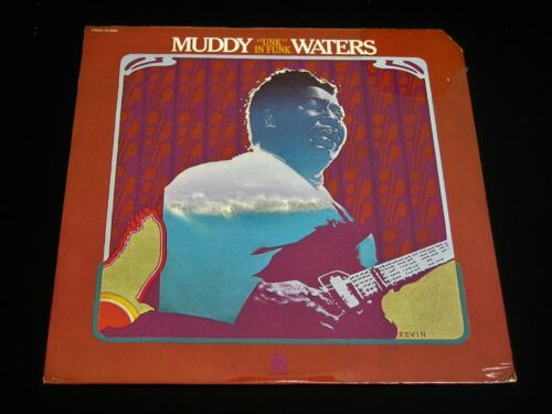 """Muddy Waters-""""Unk"""" In Funk-1974 US Chess Blues LP-SEALED"""