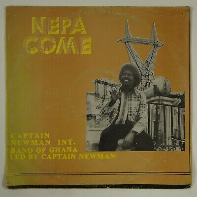 "Captain Newman ""N.E.P.A. Come"" Afro Funk Highlife LP Diamond & C.C. Best mp3"