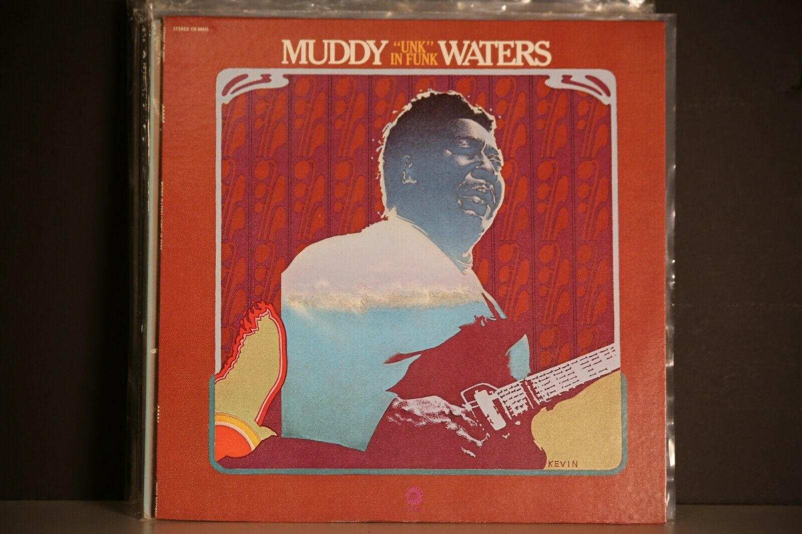MUDDY WATERS LP UNK IN FUNK 1974 CHESS CH60031 MINT