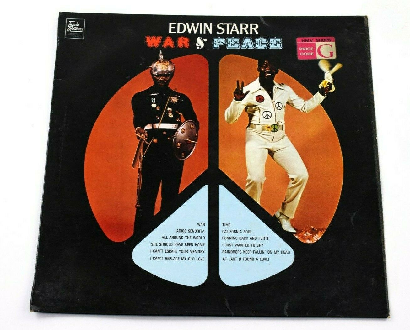 Edwin Starr War And Peace US Vinyl LP Gordy Records