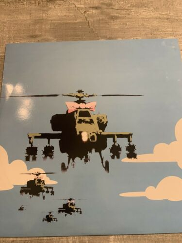 BANKSY - Dirty Funker 'Flat Beat' Happy Choppers - RARE - Limited Edition