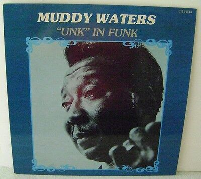 """Muddy Waters """"Unk"""" In Funk LP 12"""" Vinyl Chess Records CH 91513"""