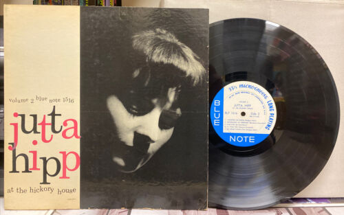 Jutta Hipp - At The Hickory House Vol. 2 - Blue Note BLP 1516 Mono LP 767 Lex