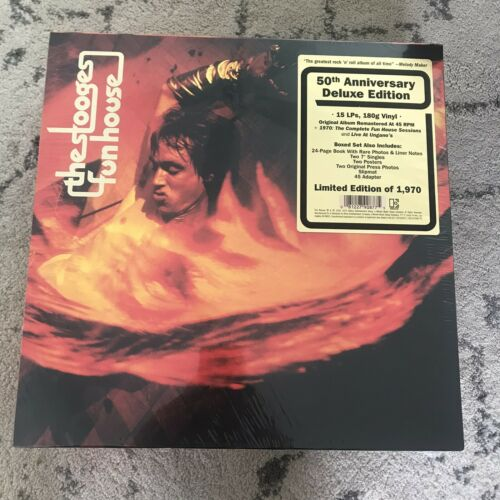 THE STOOGES - Fun House 50th Anniversary - Box Set - Vinyl LPs Iggy Pop and