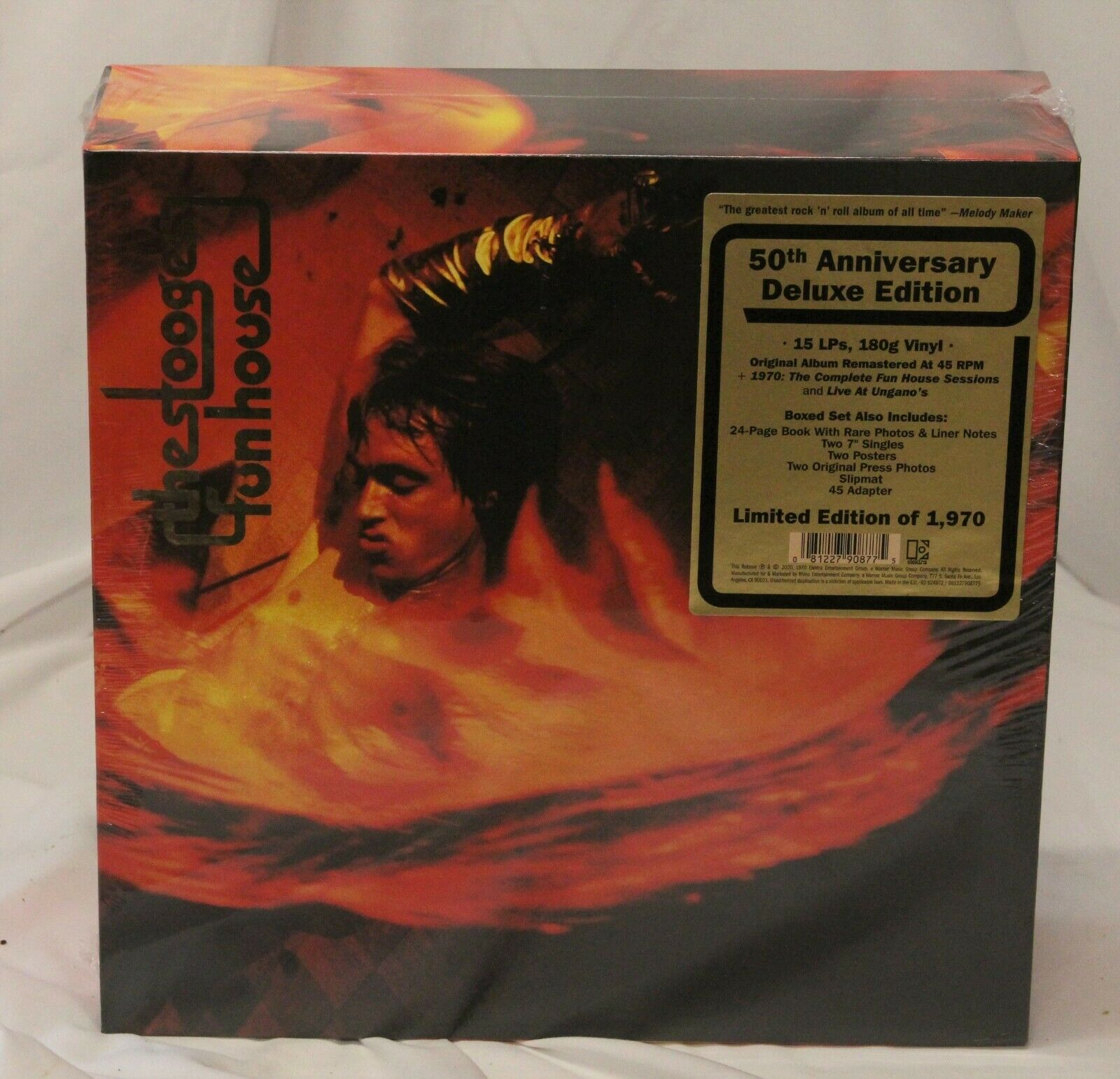 Stooges Fun House 50th Anniversary Deluxe Edition 817/1970 Limited Edition