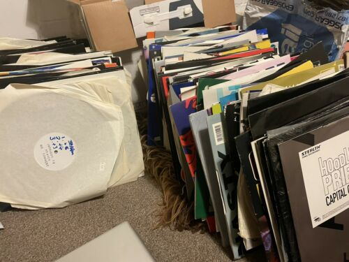 Hundreds Of Old School Dance House Techno White Labels And Promos WITH LIST