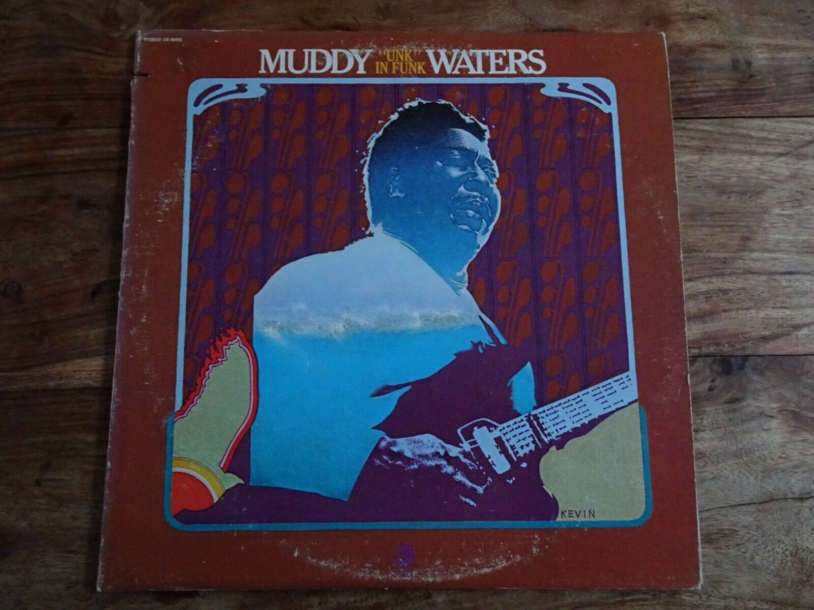 MUDDY WATERS Unk In Funk USA CHESS 1977 RE-ISSUE VINYL LP