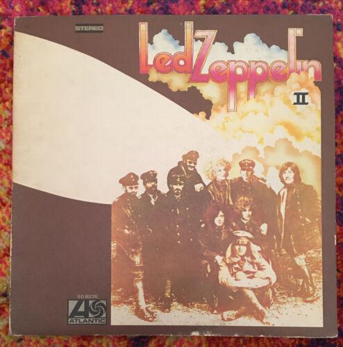 """Led Zeppelin II Rare """"Hot"""" 1st Pressing 1969"""