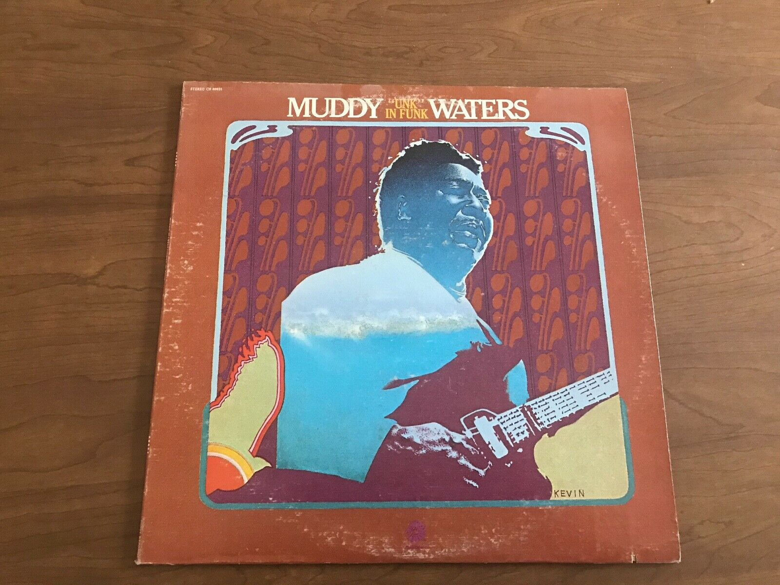 MUDDY WATERS UNK IN FUNK CHESS 1974 PRESSING VG+/EXCELLENT