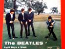 THE BEATLES (45 RPM) QMSP 16377 - EIGHT DAYS A WEEK (RARE BLACK LABEL PRESS)