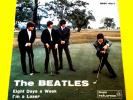 THE BEATLES (45 RPM-ITALY) QMSP 16377 - EIGHT DAYS A WEEK (RARE TOP-COVER)
