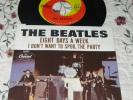The Beatles-Eight Days A Week/Spoil The Party-Vinyl 45 w/Picture Sleeve
