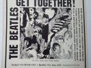 "The Beatles very RARE EP ""Get Together "" 1976 7"" vinyl Rolling Stones/Bob Dylan"
